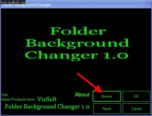 folder background changer
