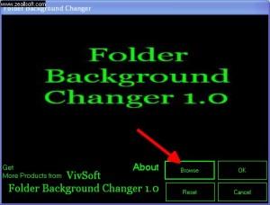 folder background changer